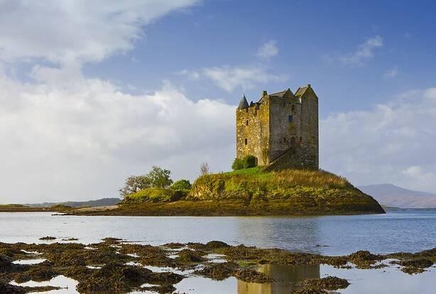 Island Of Castle Stalker