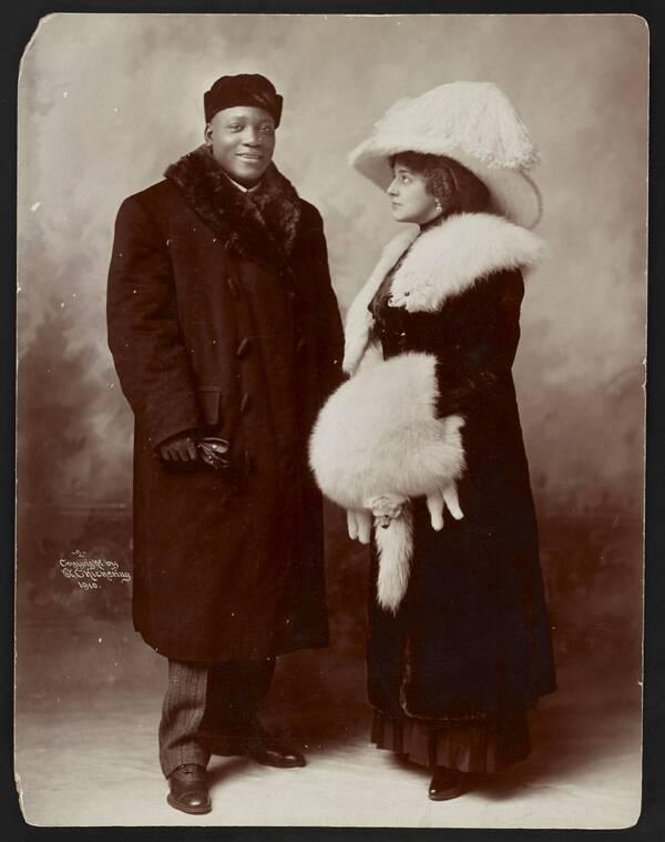 Jack Johnson And Wife Etta
