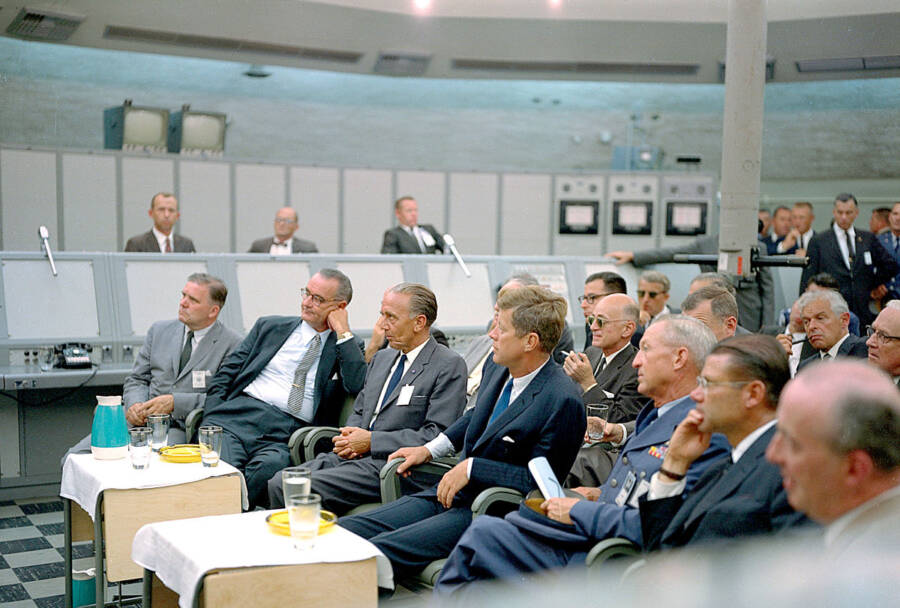 Jfk Listening At NASA