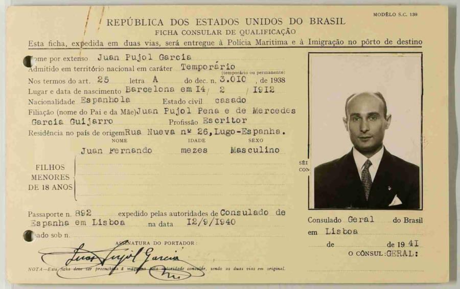 Juan Pujol Garcia Papers