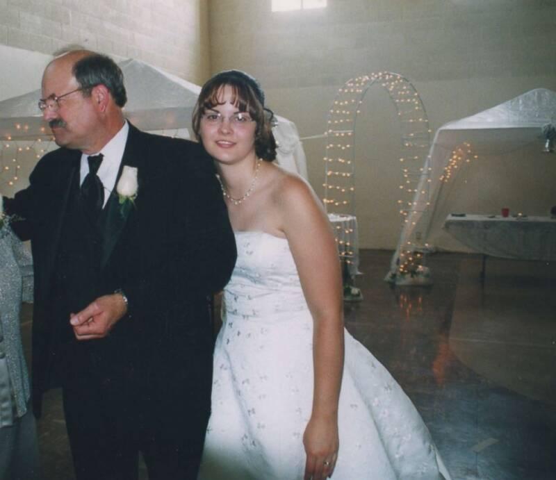 Kerri Rawson At Her Wedding