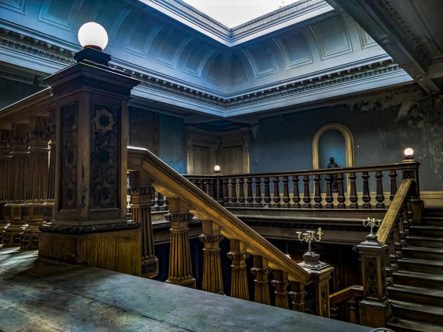 Loftus Hall Bannister