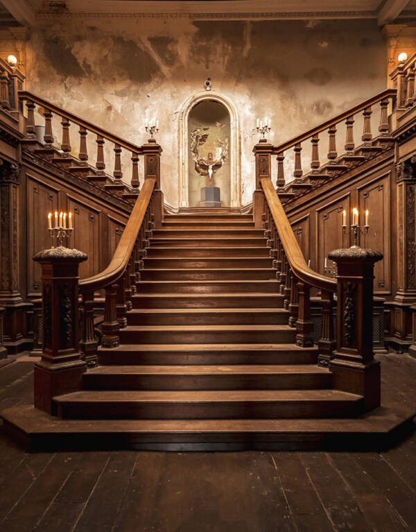 Loftus Hall Staircase