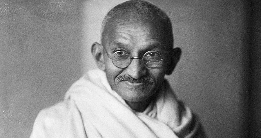 Gandhi's Gold-Plated Glasses From The 1920s Found Dangling Out Of A Mailbox In The UK