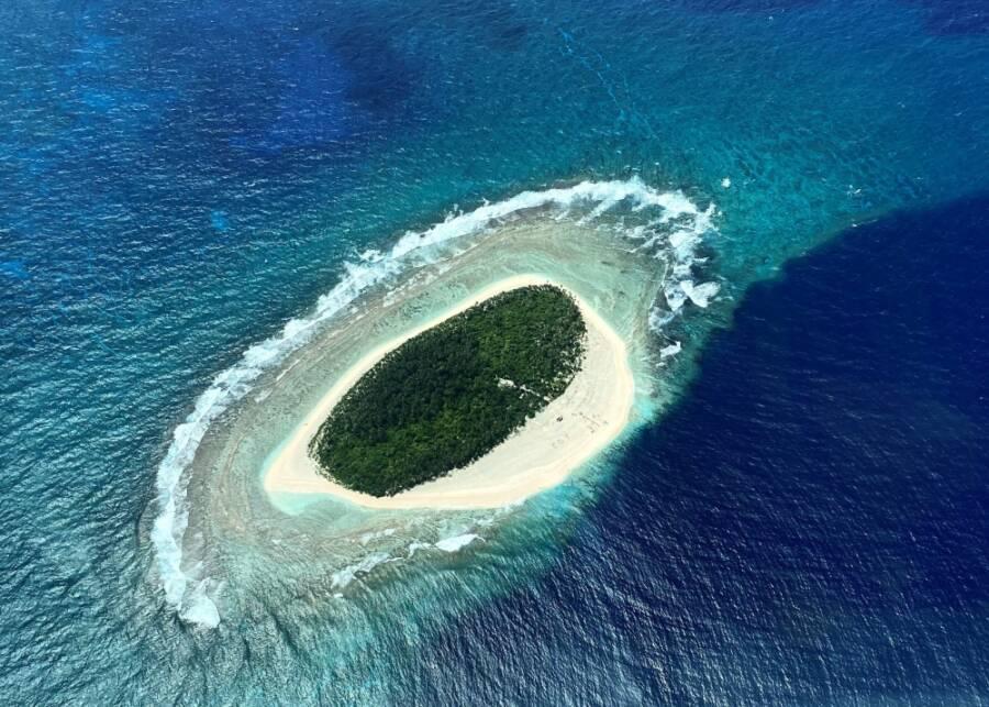 Pikelot Island From Afar