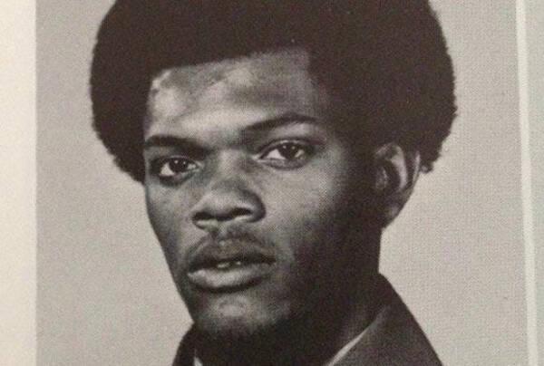 Samuel L. Jackson When He Was A Student