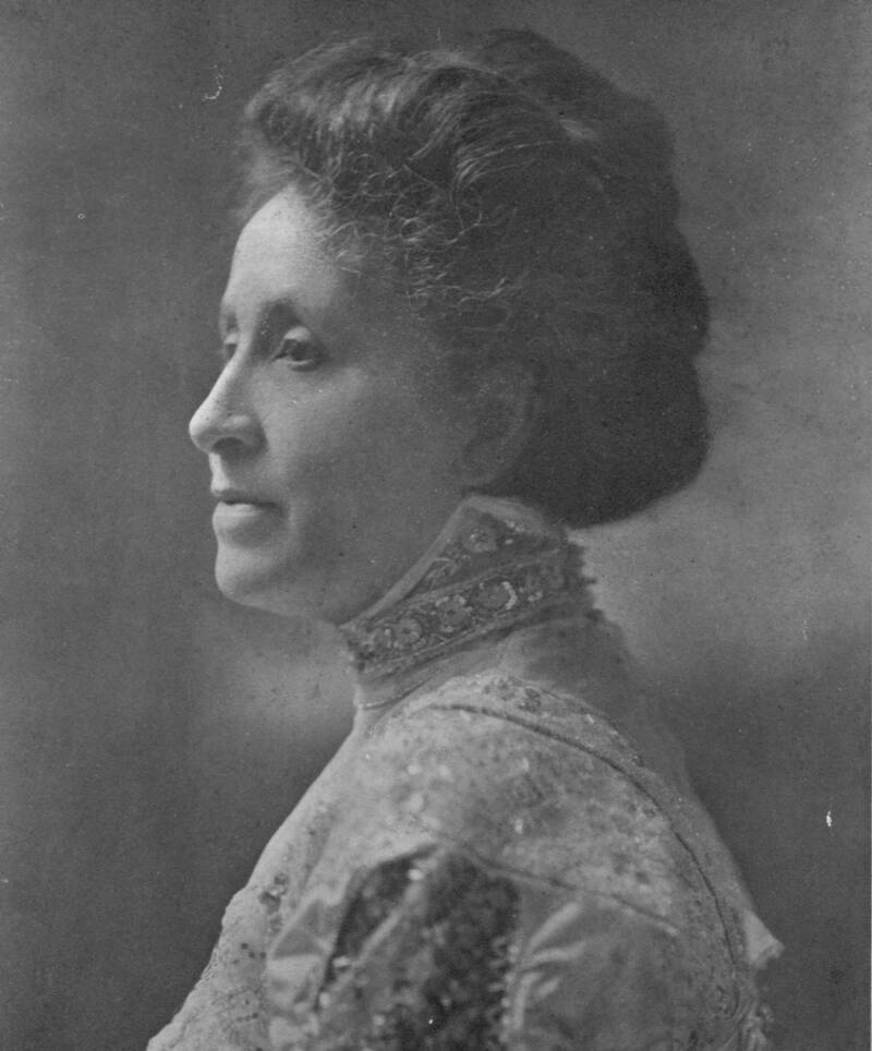 Side Portrait Of Mary Terrell