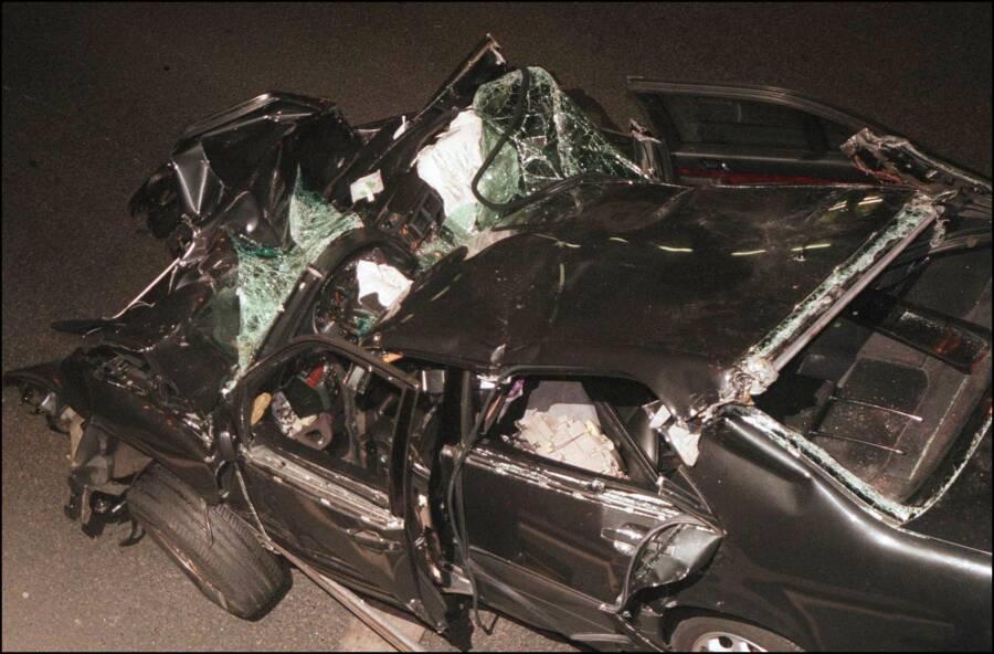 Princess Diana's Crashed Car