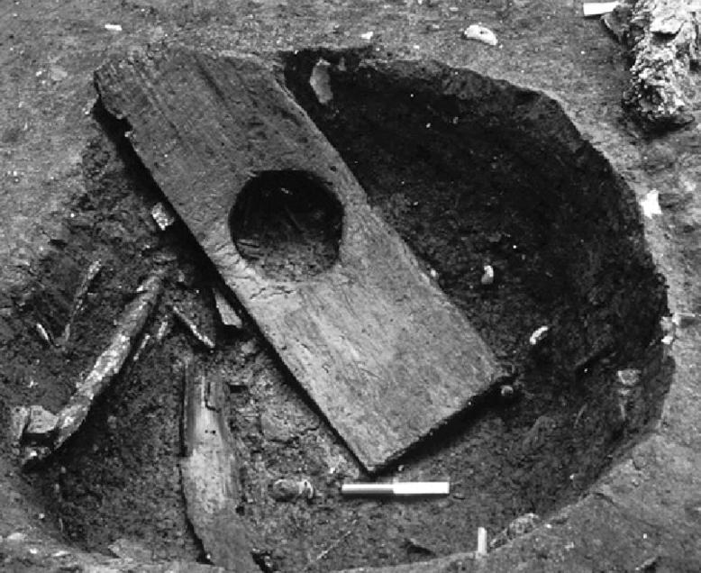 12th Century Wooden Toilet Seat