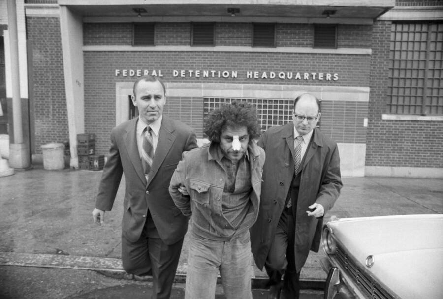 Abbie Hoffman With Fbi Agents