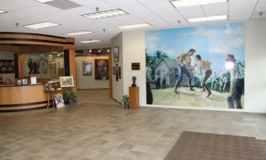 Abraham Lincoln Wrestling Hall Of Fame