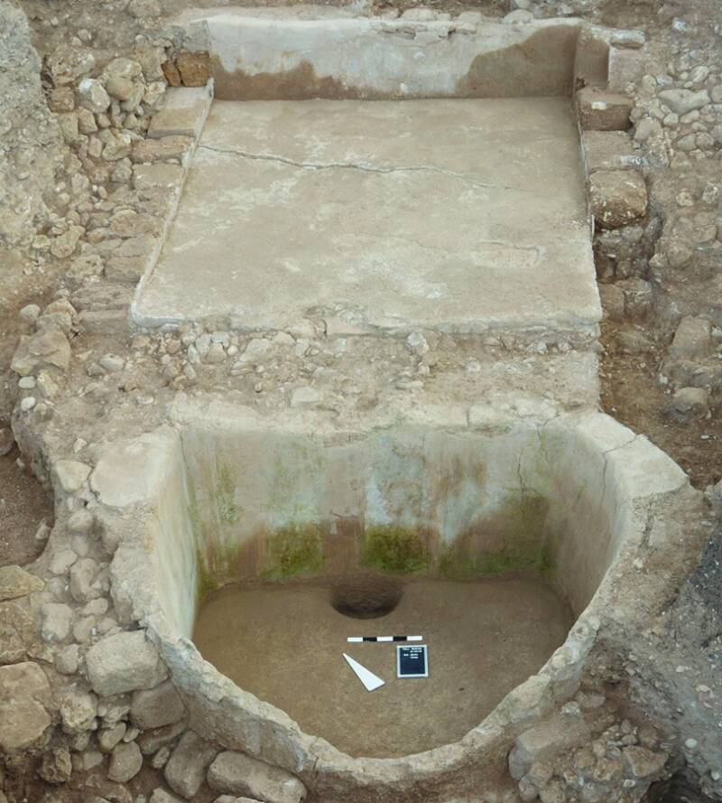 Ancient Phoenician Wine Press