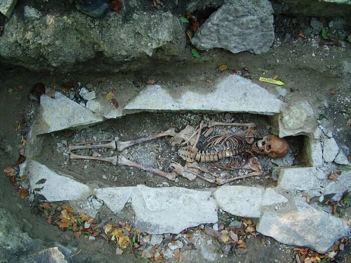 Ancient Viking Skeleton