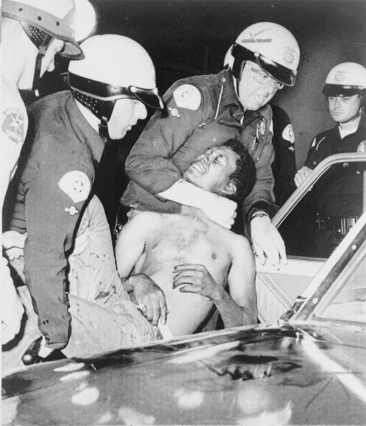 Arrest During 1968 Watts Riots