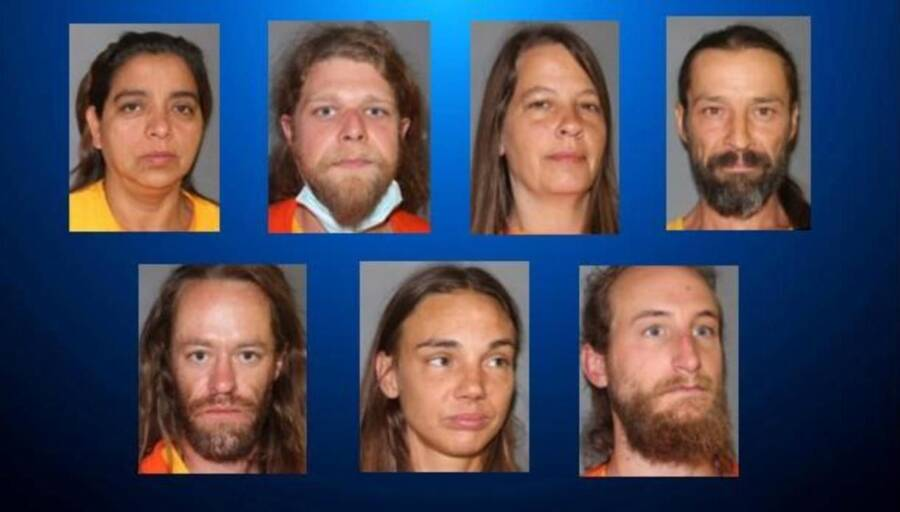 Arrested Amy Carlson Cultists