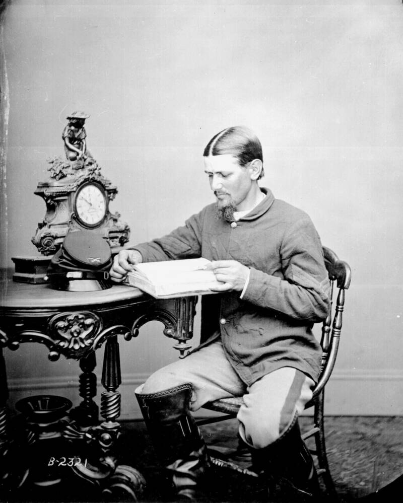 Portrait of Boston Corbett