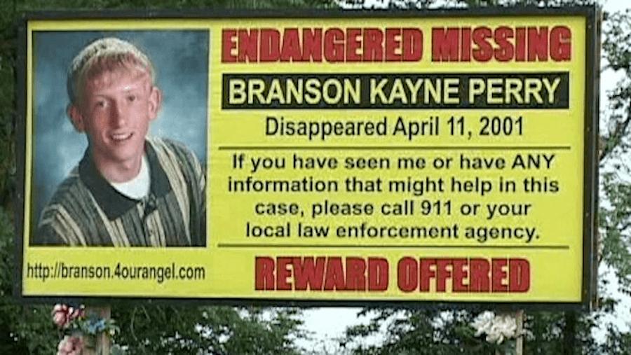 Branson Perry Reward Billboard
