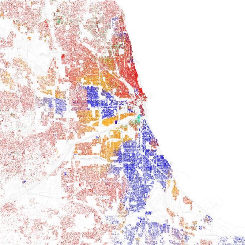 2010 Chicago Map
