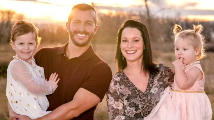 Chris Watts Family Portrait