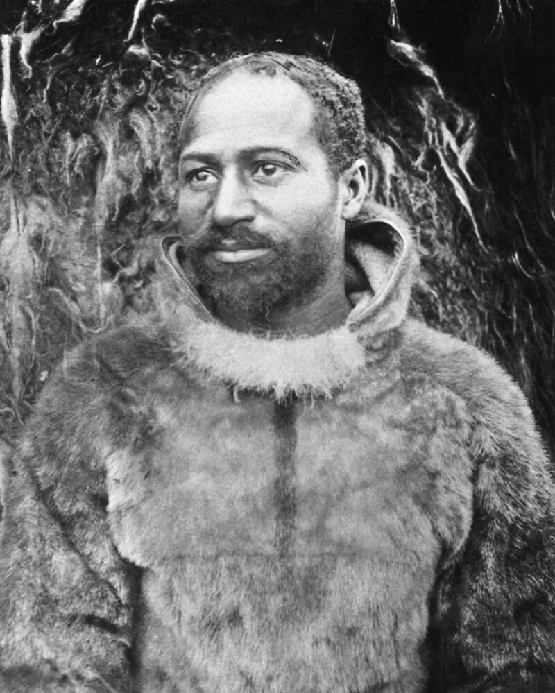 Close Up Portrait Of Matthew Henson