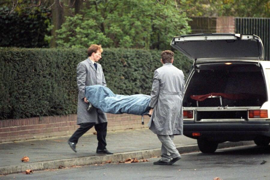 Coroners At Detlev Karsten Rohwedder Murder Scene