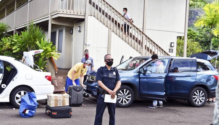 Cult Members Packing Up Car