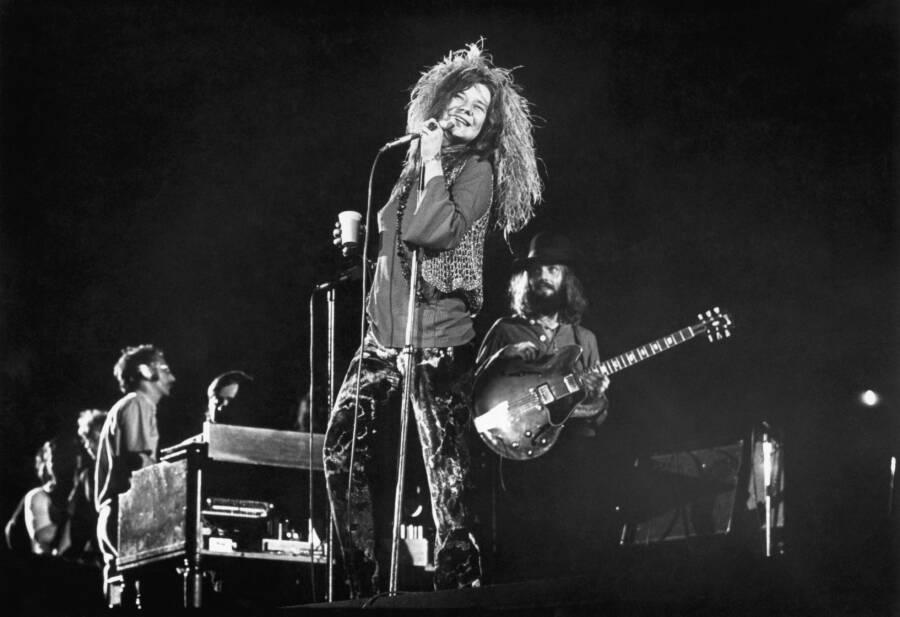 Janis Joplin At Shea Stadium