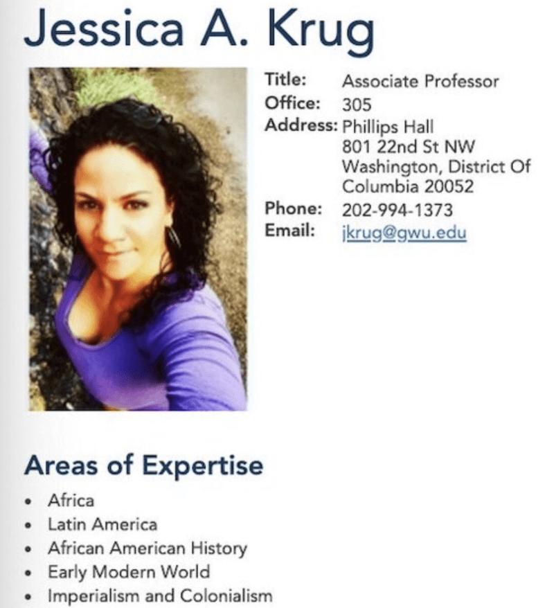 Jessica Krug University Profile
