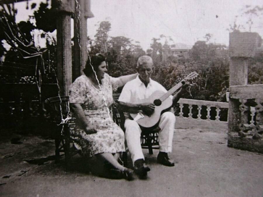 Jose And Margarita Paronella