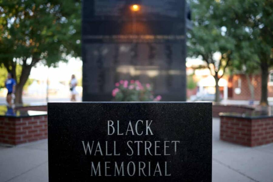 Plaque For Black Wall Street