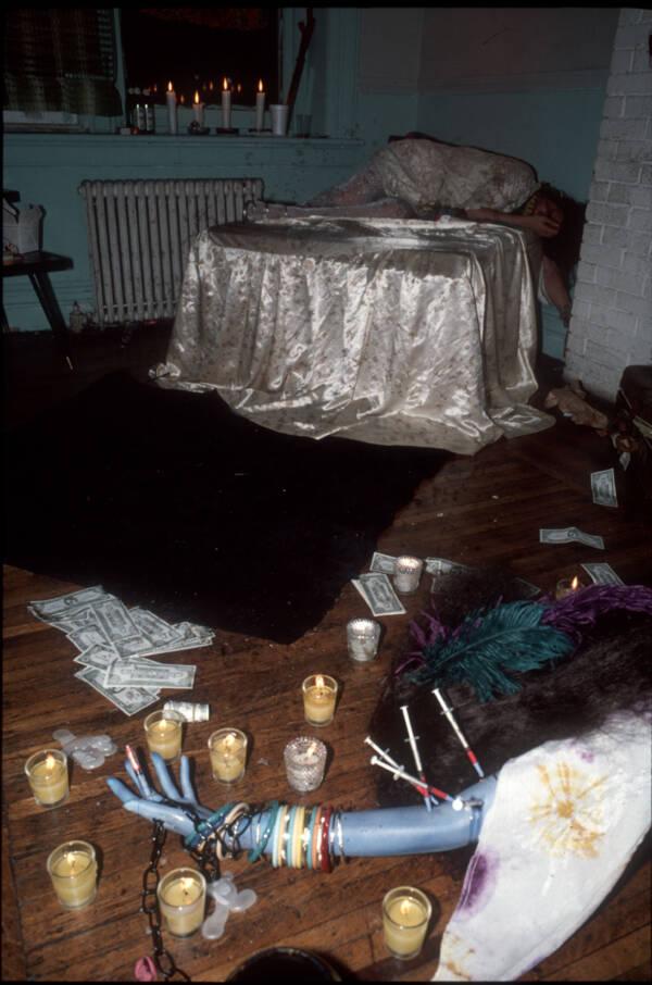 Recreation Of Janis Joplin Death Scene
