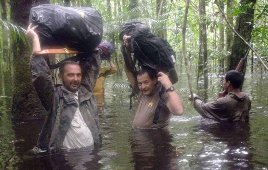 Rieli Franciscato In The Amazon