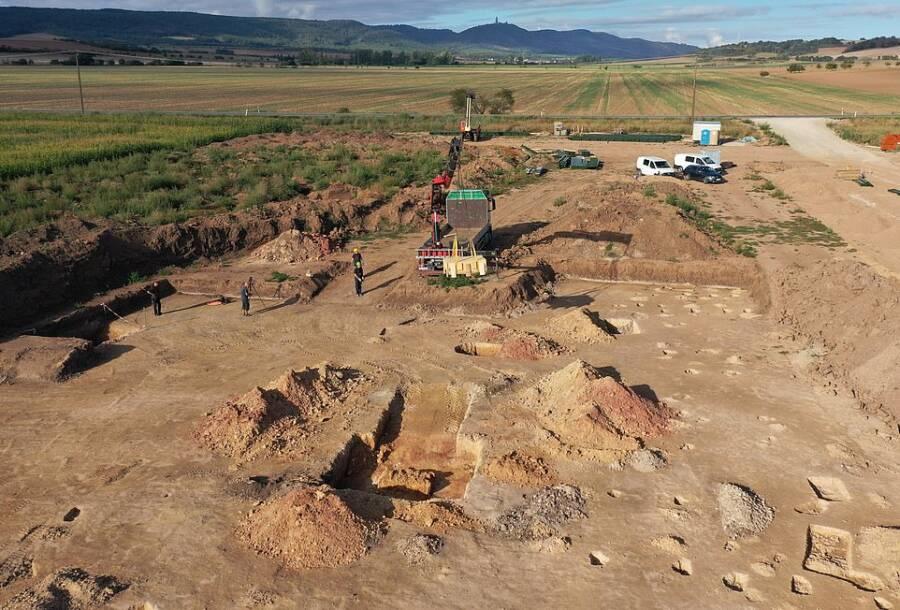 Saxony Anhalt Excavation Site