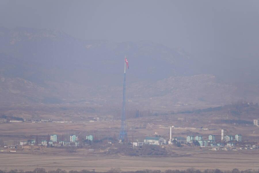 Smog Over Kijong Dong