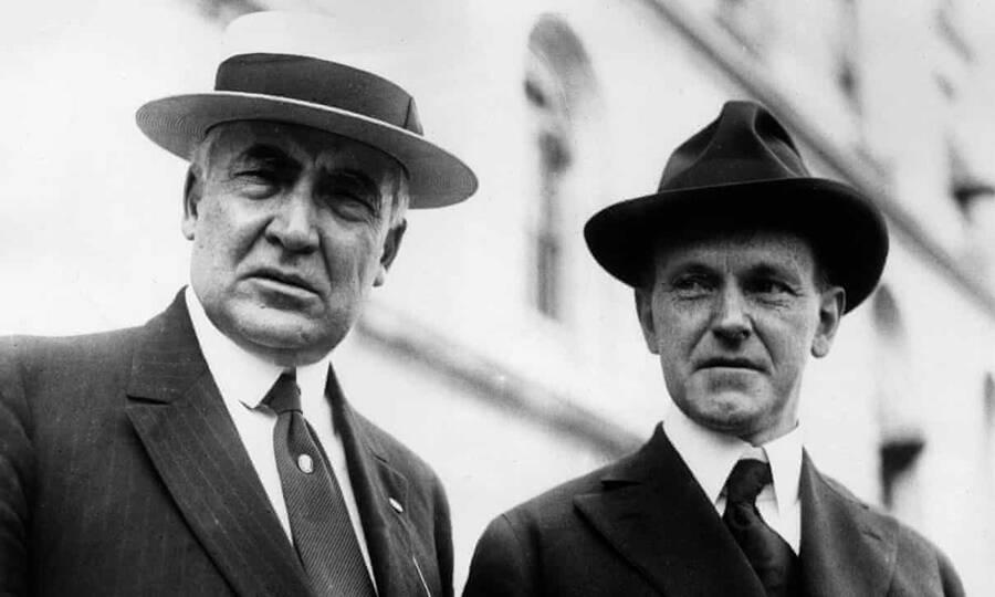 Warren Harding And Calvin Coolidge
