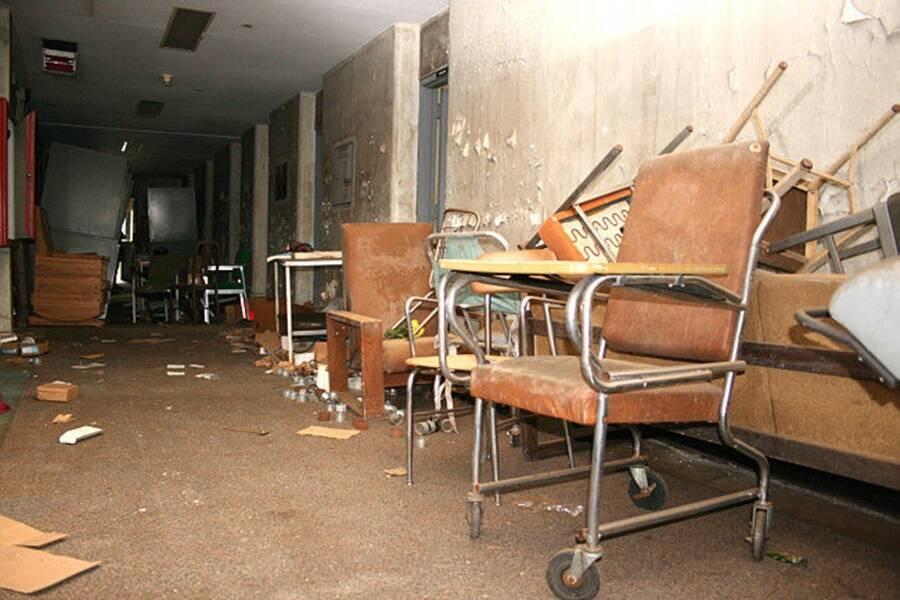 Abandoned Furniture At Willard Asylum