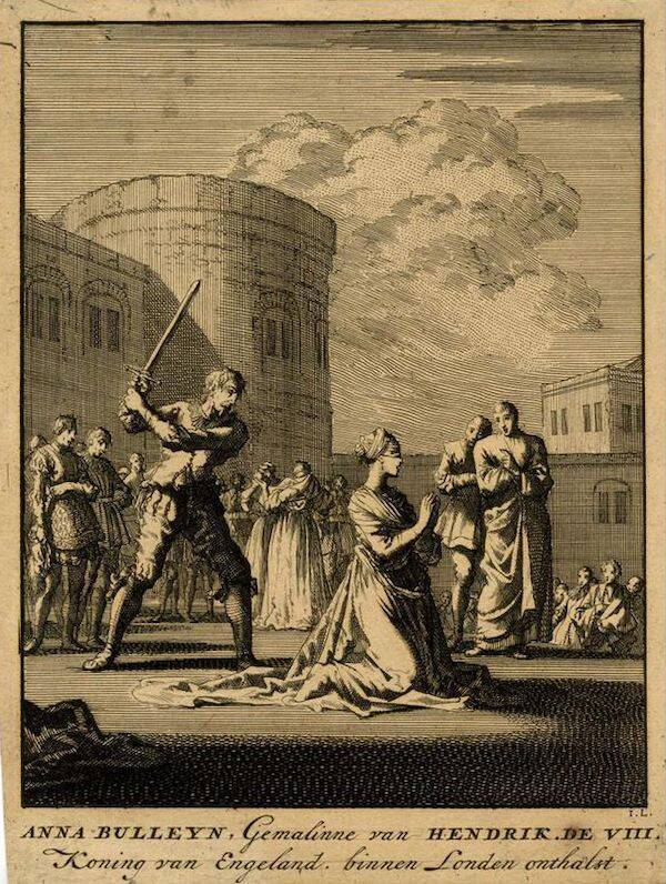 Anne Boleyn Execution Painting