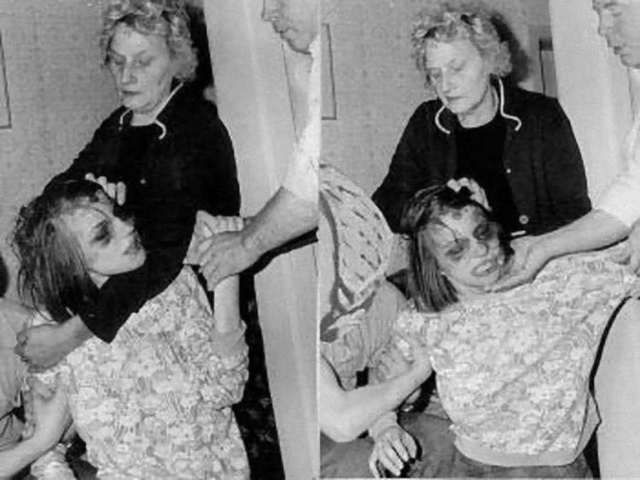 Anneliese Michel Being Restrained