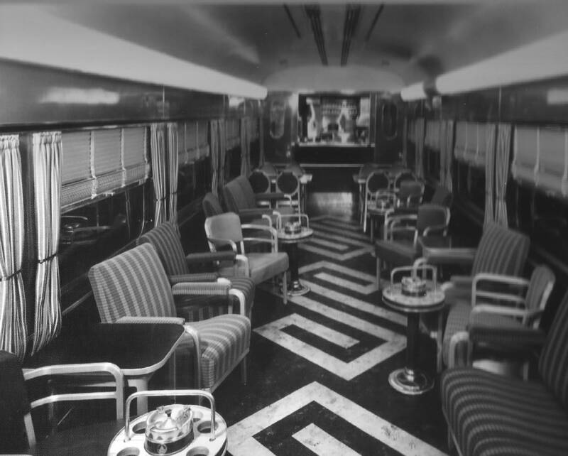 Baltimore Ohio Lounge Car