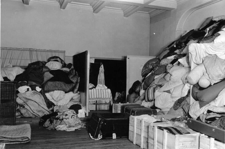 Bedding Stolen From Jews