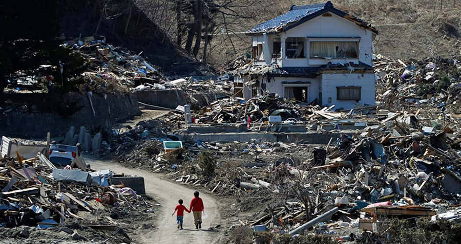 The Eerie True Story Behind The 'Tsunami Spirits' That Allegedly Haunt Survivors Of Japan's 2011 Disaster
