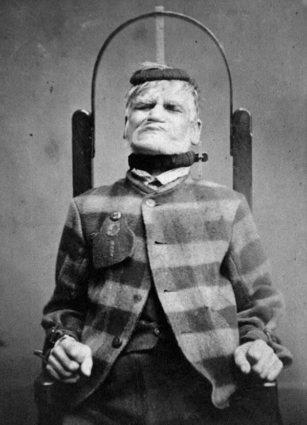Criminal Inmate At West Riding Asylum
