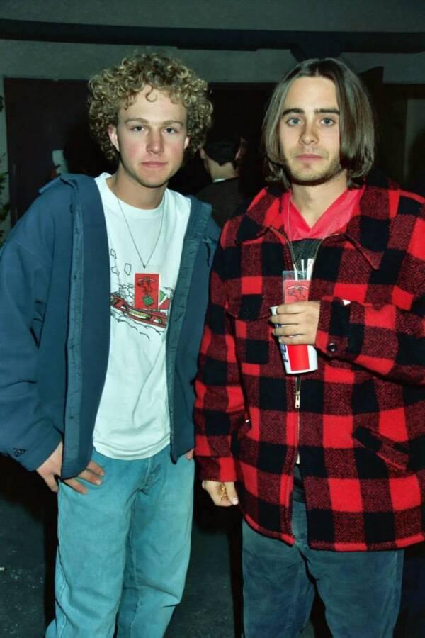 Devon Gummersall And Jared Leto