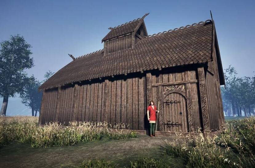 Digital Reconstruction Of Viking Temple