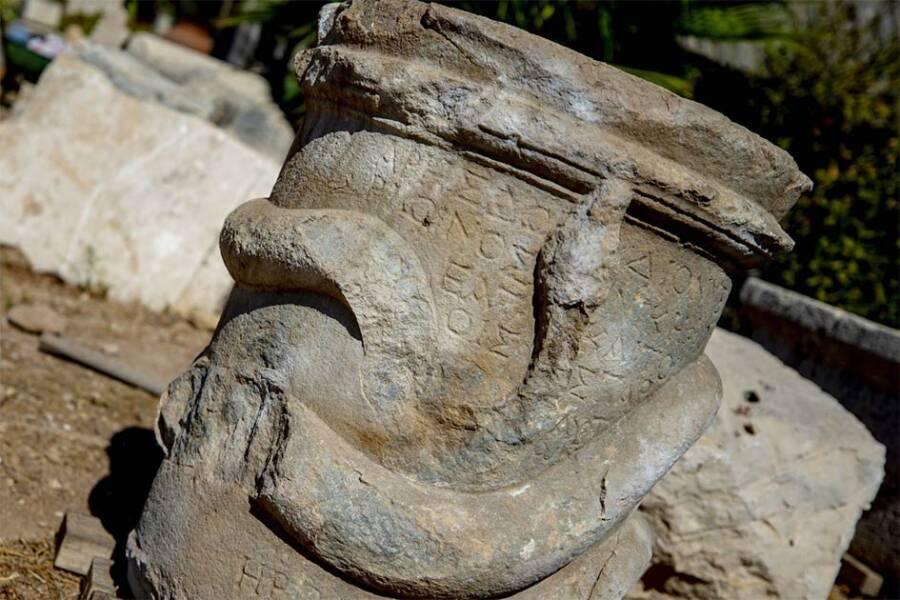 Greek Snake Altar