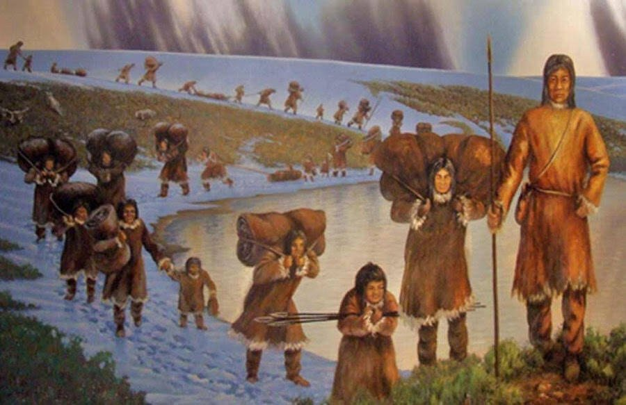 Early Humans Migrating