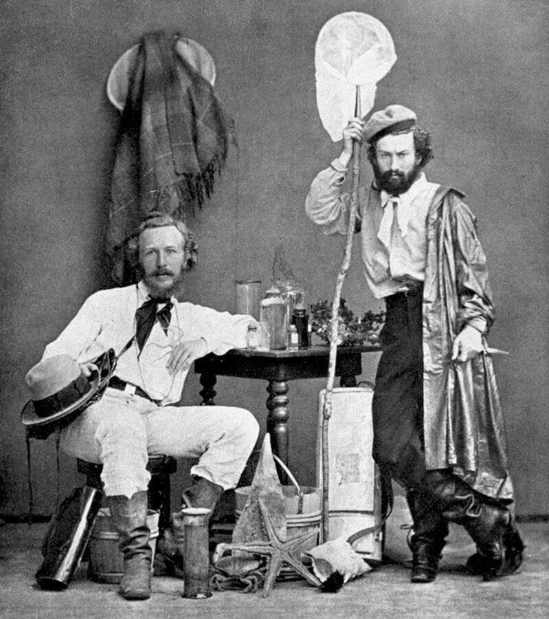 Ernst Haeckel And Nicholai Miklukho Maklai
