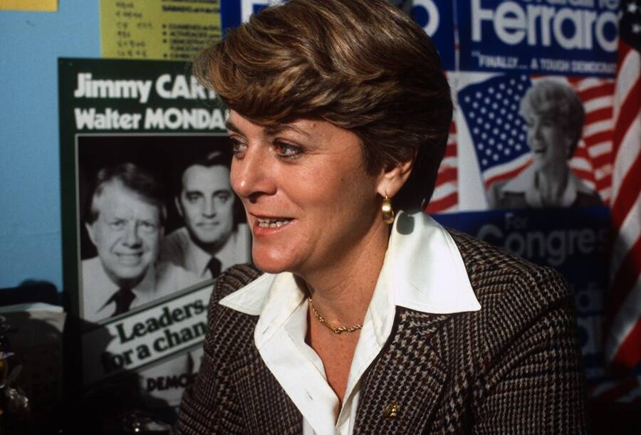Geraldine Anne Ferraro The First Woman Vice President Candidate