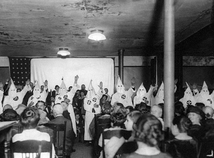 Kkk Members In Chicago Church