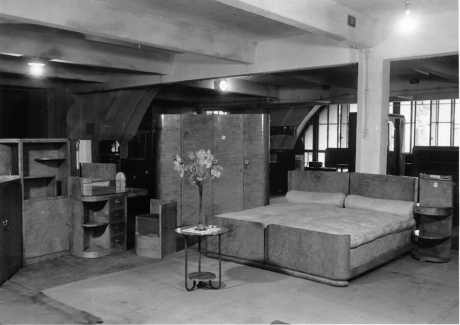 Looted Furniture Set Up At Lévitan